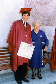 (10-24-1997) Licensed in Philosophy - with your Grandmother Doris Caparó